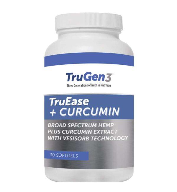 TruEase + Curcumin Hemp Oil Supplement
