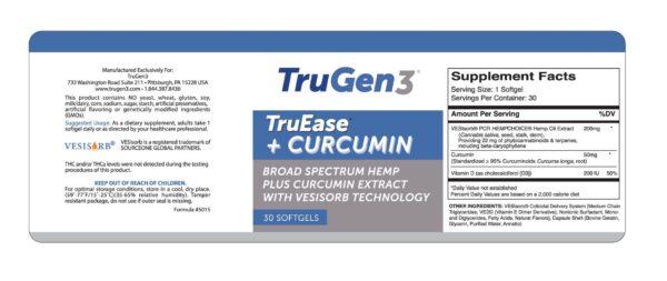 TruEase + Curcumin